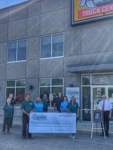 Harry Pratt Cheque Presentation to the Kemptville District Hospital - Photo 2