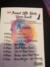 3rd Annual Little Black Dress Eventt - Photo 21