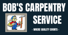 Bob's Carpentry Service Logo
