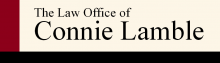 Law Office of Connie Lamble Logo