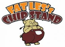 Fat Les Chip Stand Logo