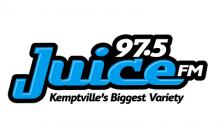 97.5 JUICE FM Logo