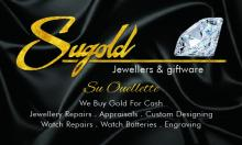 Sugold Jewellers & Giftware Logo