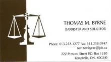 Law Office of Thomas Byrne Logo
