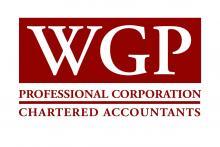 WGP Professional Corporation Chartered Accountant Logo